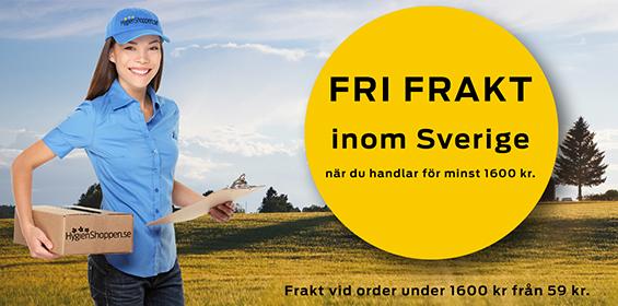 Banner bild - Fri frakt