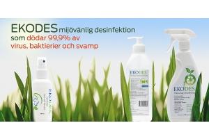 EKODES - naturlig desinfektion