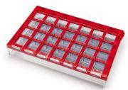 Dosett maxi röd - 1 st/frp