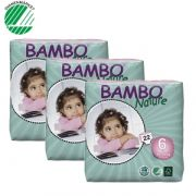 Bambo Nature Stl 6, 16+kg Storpack - 120 st/Storpack