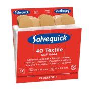 Salvequick Textilplåster refill till tavla - 40 st x 6