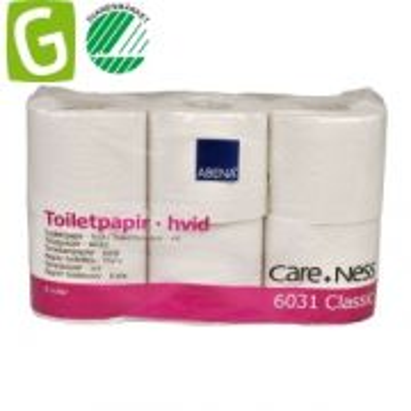 Toalettpapper Classic 2-lags 50m/rulle - 42 rullar/bal