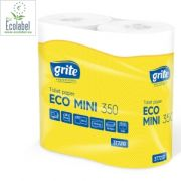 Toalettpapper Grite Eco 2-lags - 4 Rullar/frp