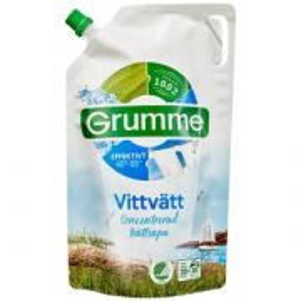 Grumme flytande tvättmedel vit 800 ml