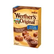 Werthers Original Chocolate sockerfri 42 gram - 1 ask