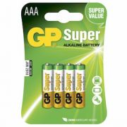 AAA Batteri GP Super LR3 4-pack