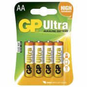 AA Batteri GP Ultra LR6 4-pack